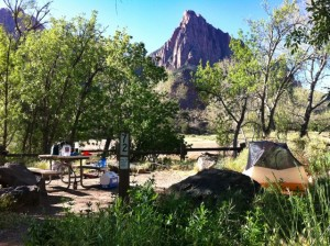 Zion South Camp View